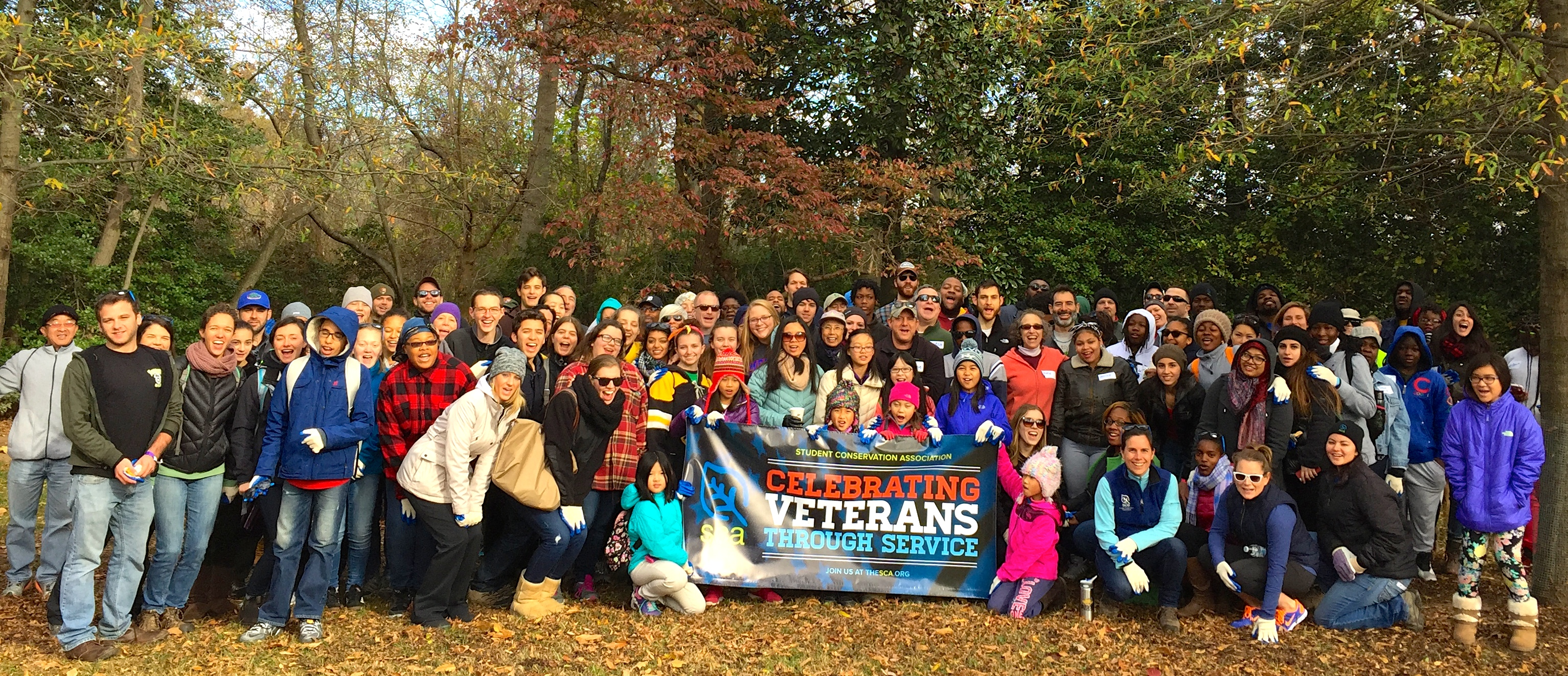 SCA ConSERVE DC Volunteers Give Back on Veterans Day | The Student ...