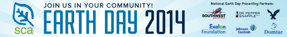 Join us in your community for Earth Day 2014