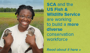 CDIP Interns are training this week in Philadelphia. See how SCA and FWS are joining forces to build a more diverse conservation workforce