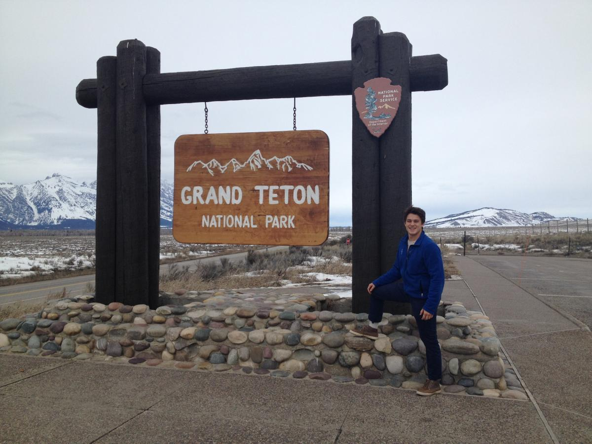 2015 NPS Academy alum Jeremy Taitano returns to Grand Teton this year as a leader and a mentor.