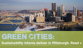 SCA's Pittsburgh Green Cities Program saves Main Street Dollars through sustainability