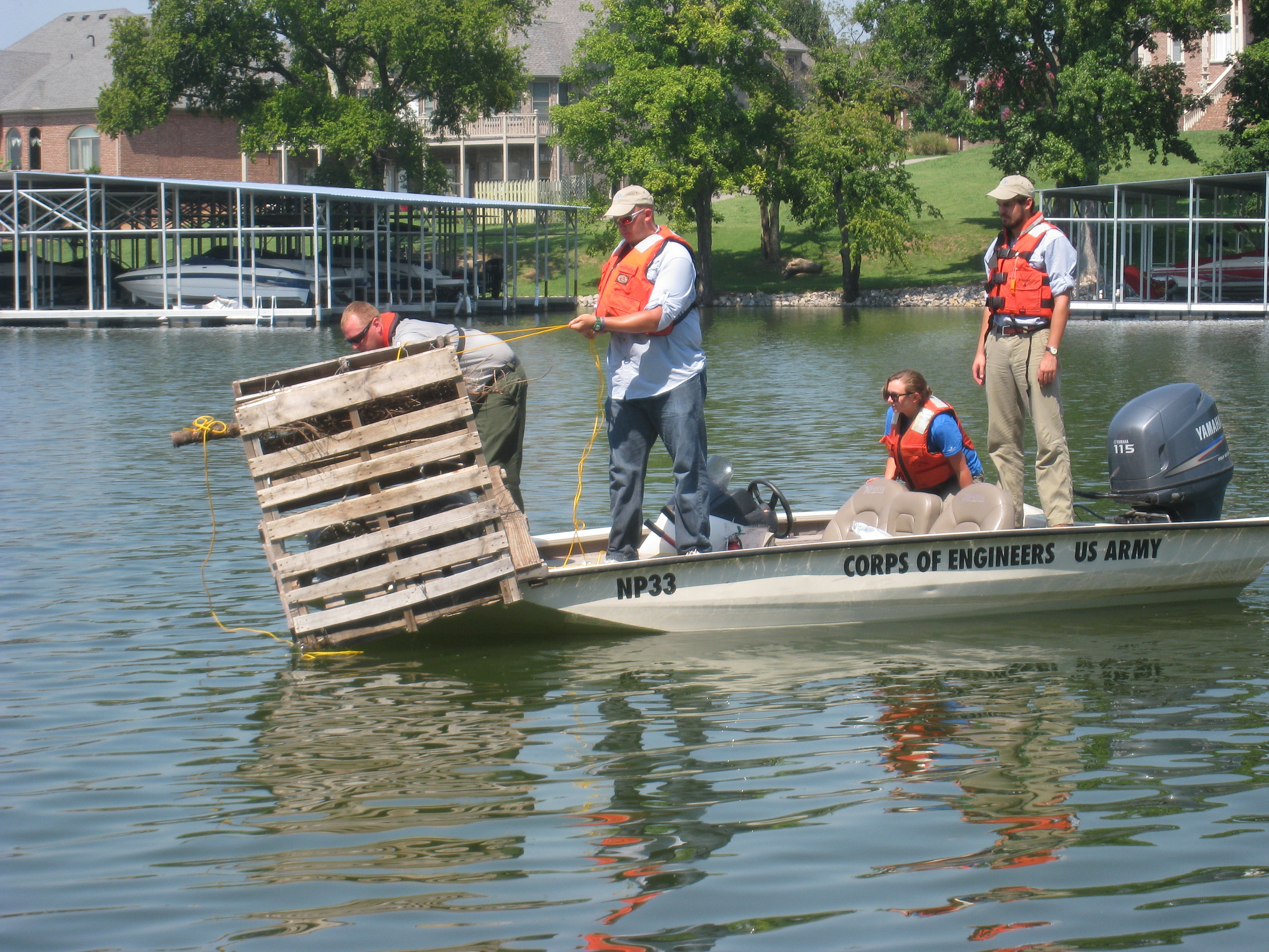 Conservation project 8 old hickory and fish attractors for Old hickory lake fishing