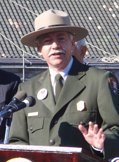 NPS Director Jonathan Jarvis. Photo courtesy GreatFallsNPS