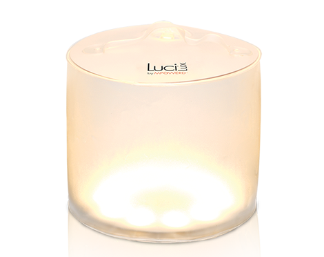 Luci inflatable solar powered light.