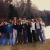Andy Webster is in the back row wearing a maroon shirt during his SCA/AmeriCorps program at Kenneth Dubuque State Forest