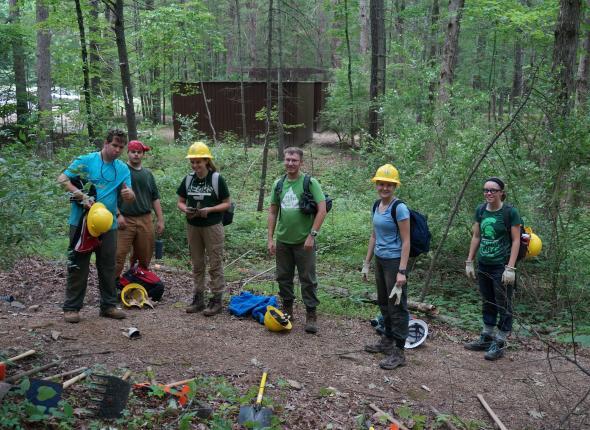 Members of the SCA National Crew in Virginia