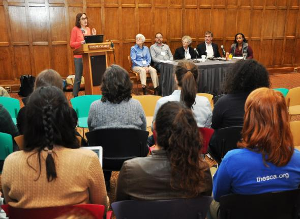 SCA-Vassar Conservation Leadership panel