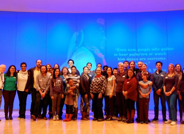 SCA Alumni gather at National Museum of the American Indian