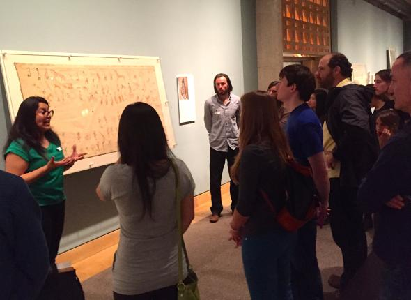 SCA Alumni tour the National Museum of the American Indian