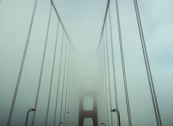 Through the fog in search of sunny skies!