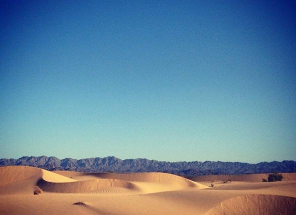 Endless, beautiful dunes.