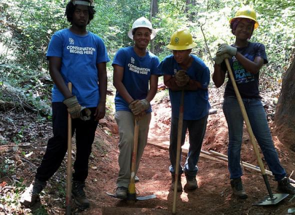 DC Community Crew, Trail Work