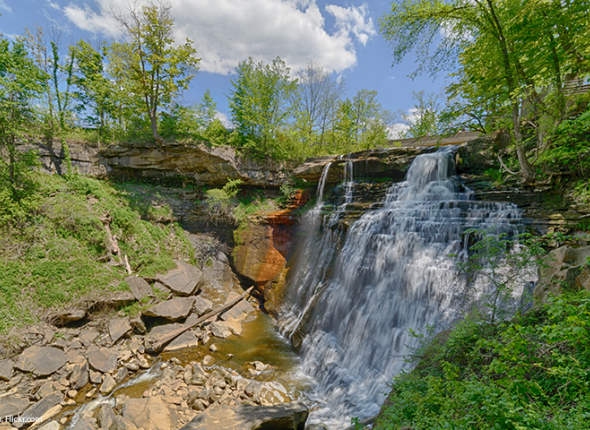 Brandywine Falls at Cuyahoga Valley National Park