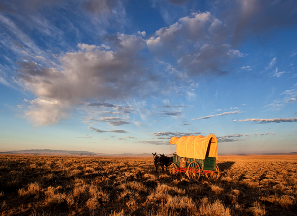 Emigrant National Historic Trail in Wyoming by Bob Wick, BLM.