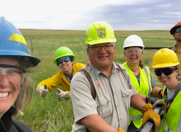 SCA Interns Serving at Huron WMD in South Dakota