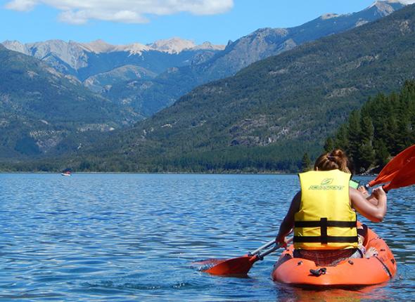 Two Girls Kayaking via Pixabay