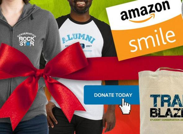 The SCA Cafe Press store, shopping via Amazon Smile and Giving to SCA are all ways you can support Conservation this holiday season