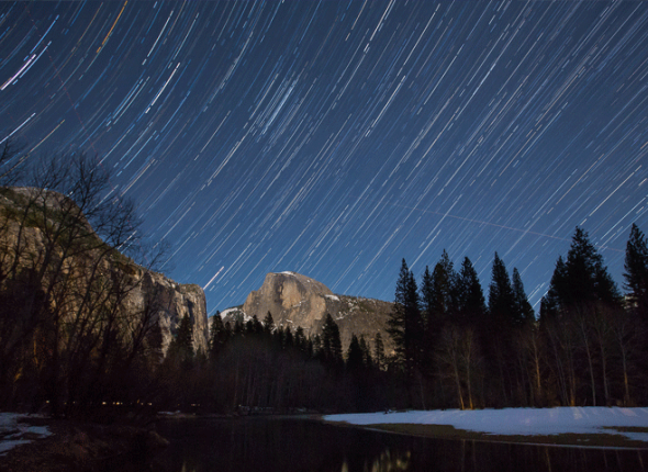 Night sky over Yosemite National Park, Photo by Jeff Krause / Flickr.com