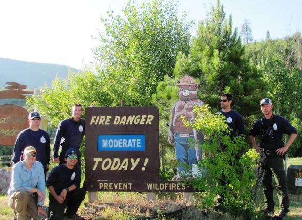 Stagecoach Fire House - Yampa Trip Colorado 2013
