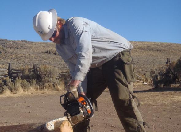 Wildcorps' first chainsaw assignment