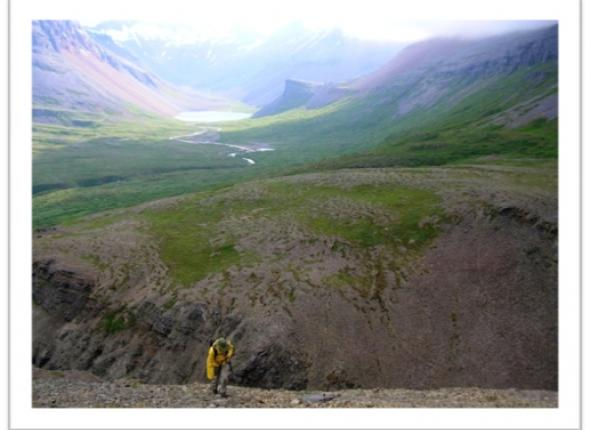 The view from an inverentory in Alaska, where we will spend a month this year!