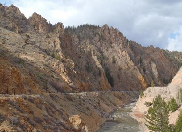 Colorado River near Hot Sulphur Springs Colorado
