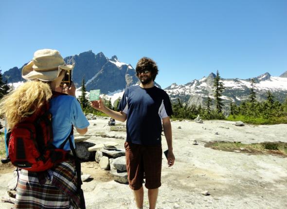 Julie and Alex Assess Squire Pass