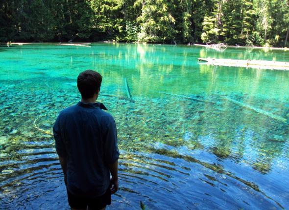 Charles at Quinn Lake