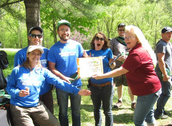 Smoky Mountain Clean-Up: The SCA won the trash pickup competition!!!!!!!