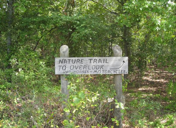 Take care, little nature trail.