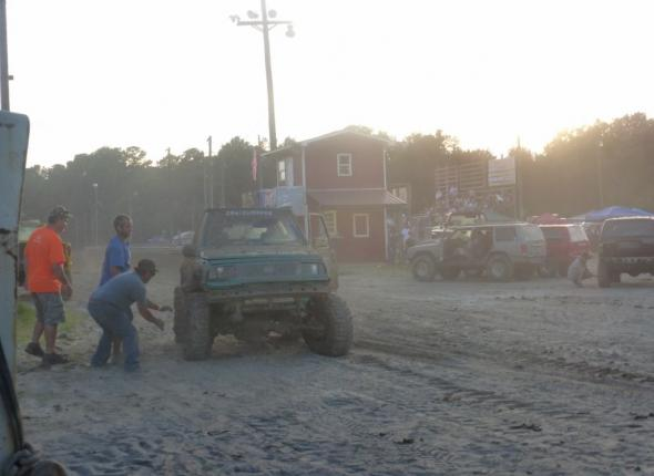 """The Grasshopper"" at Mud Bog"