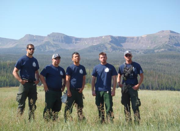 CM Parker, Pyatt, Vang, Bowers, PL Avery - VFC 2 Colorado 2013