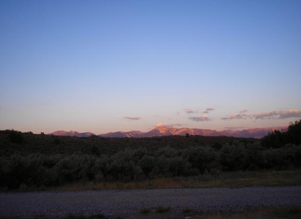 View from Smoky Cubs Campground