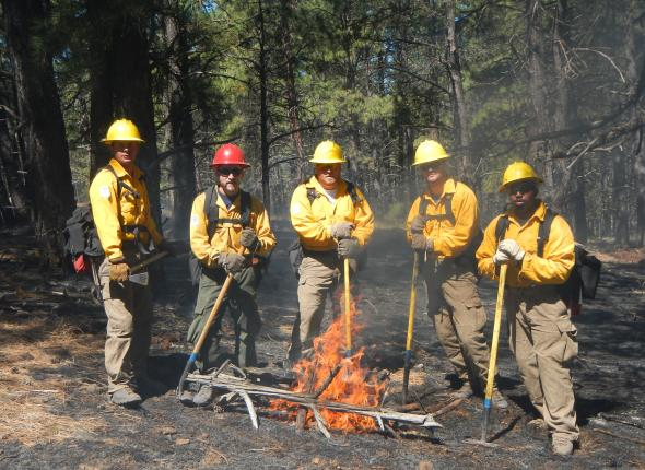 (Left to Right) Eric Muñoz, Bobby Woelz, James Love, Brian Hirtzer, & Davon Goodwin