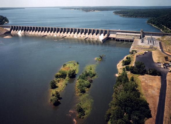 Fort Gibson Lake and Dam
