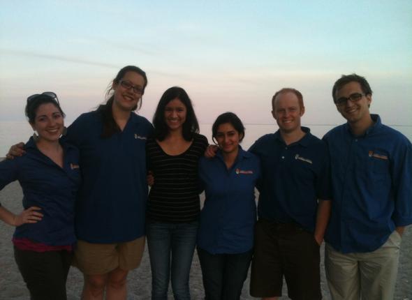 Our canvass team in Westport
