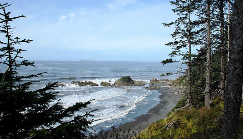 Earth Day Service At Olympic National Park In Washington State