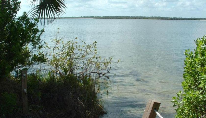 Cape Canaveral National Seashore's Mosquito Bay, where SCA Crews are working
