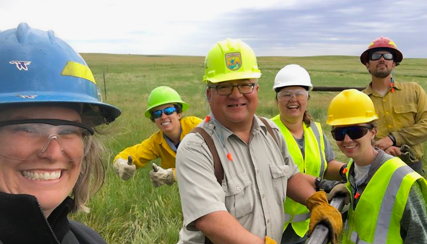 SCA Interns Serving at Huron WMD in South Dakota