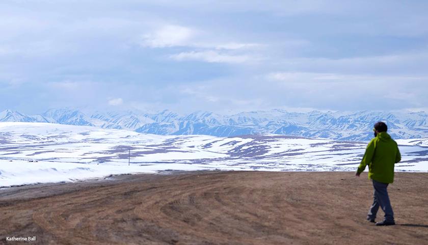 Peter Winfrey Along the Dalton Highway in Northern Alaska