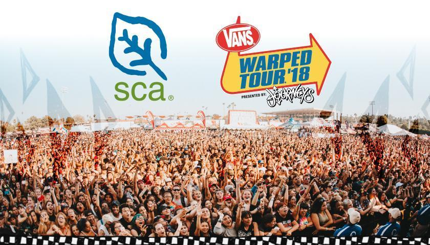 SCA Headed to the 2018 Vans Warped Tour