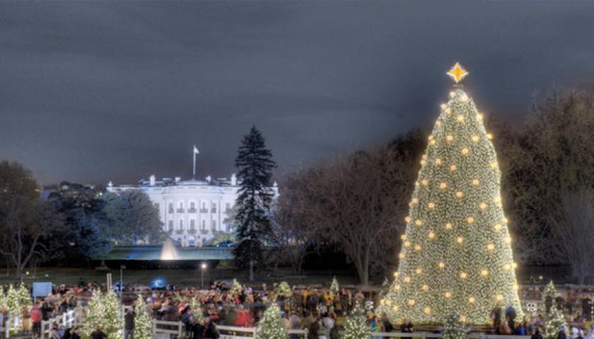 sca volunteers for the holidays at the national tree in washington dc - Christmas In Dc