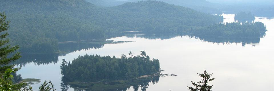 Adirondack Park. Photo of Lake Lila by MWanner via a CC License