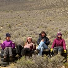 Desert Restoration Corps-Jawbone crew. Ladies Hitch 12.