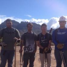 the crew at vulture peak
