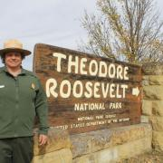 Valerie Naylor, superintendent of Theodore Roosevelt National Park and SCA Alum. Photo by April Baumgarten