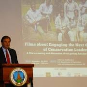 Under Secretary of the US Department of Agriculture at the Film Screening