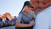 Ranger Karen Garthwait at Arches National Park by Andrew Kuhn