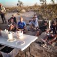 The Ridgecrest BLM Field Office staff kindly provided the DRC with five gallons of ice cream and various toppings to thank us for our service. The DRC couldn't handle the magnitude of all that lactose.