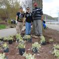 #HeARTthisCity Earth Day project with American Eagle Outfitters in Pittsburgh